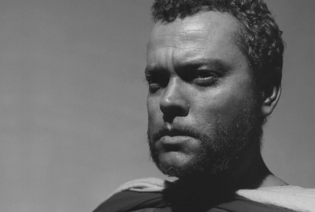 """Orson Welles in """"Othello"""" (United Artists)"""