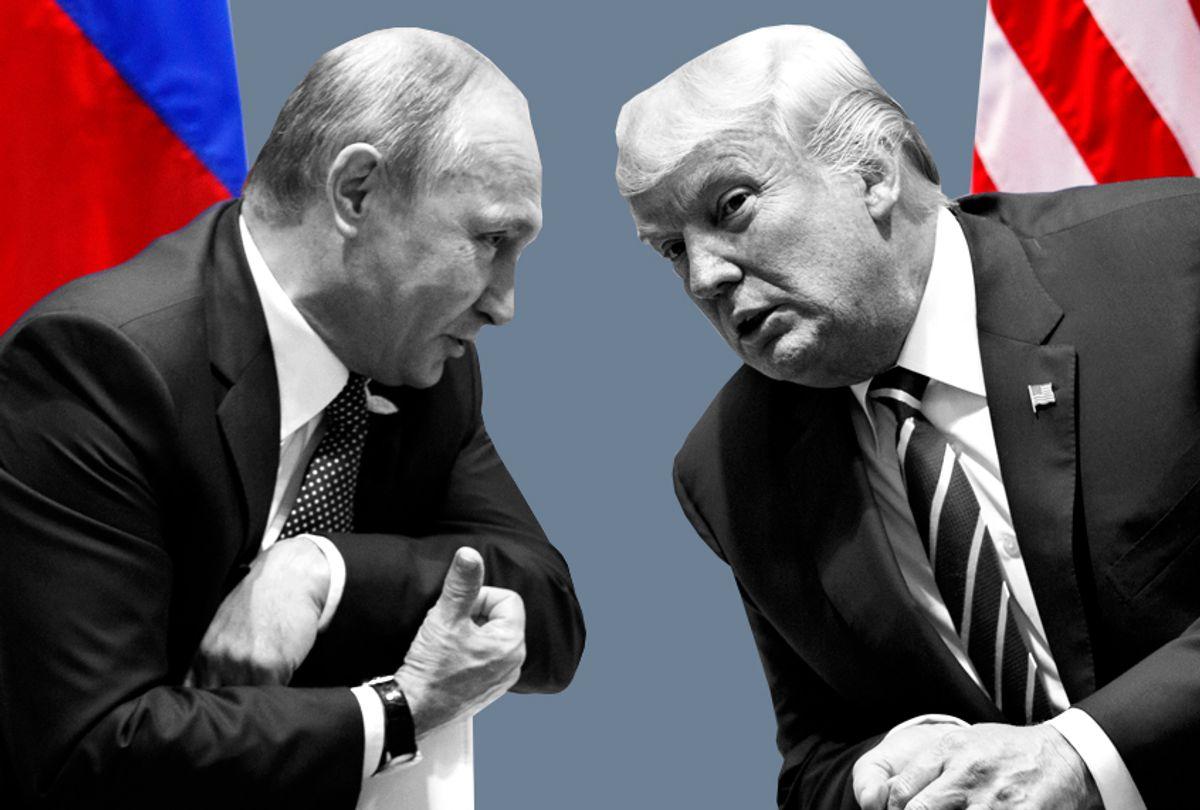 Vladimir Putin; Donald Trump (AP/Evan Vucci/Salon)