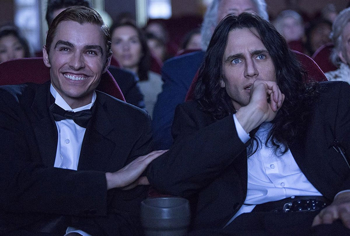 """Dave Franco and James Franco in """"The Disaster Artist"""" (A24)"""