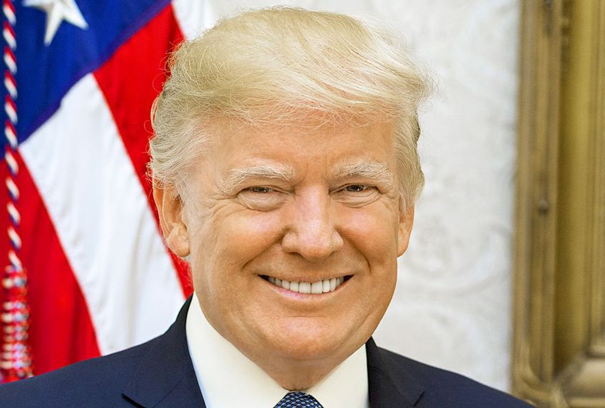 Official portrait of President Donald Trump (White House)