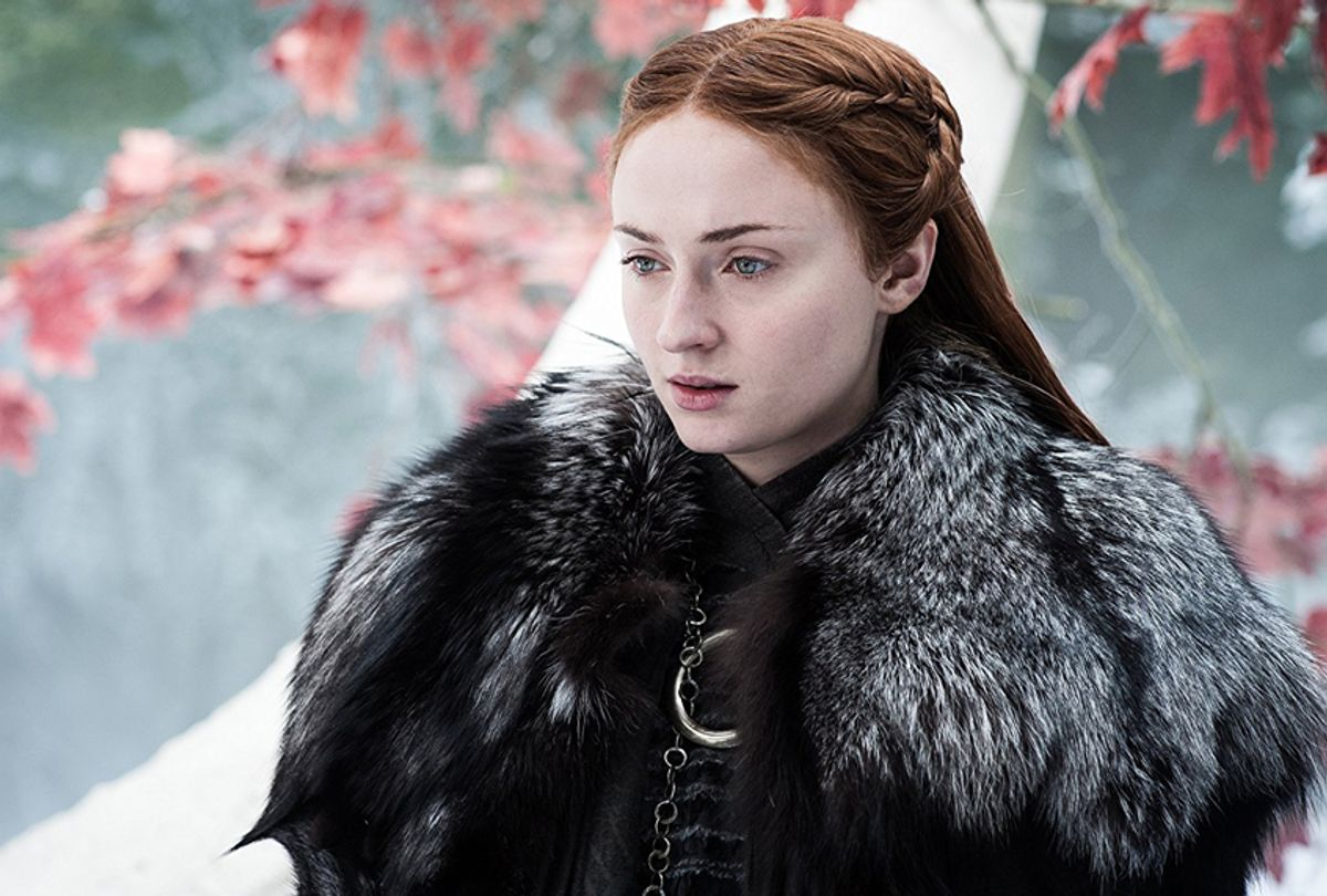 "Sophie Turner in ""Game of Thrones"" (HBO)"