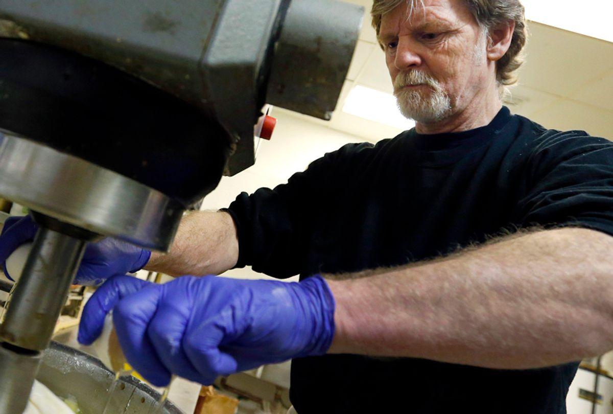 Masterpiece Cakeshop owner Jack Phillips (AP/Brennan Linsley)
