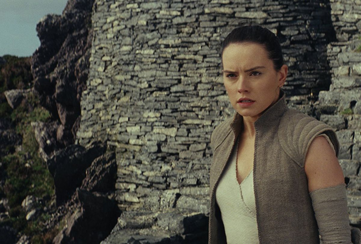 "Daisy Ridley in ""Star Wars: The Last Jedi"" (Walt Disney Studios Motion Pictures)"