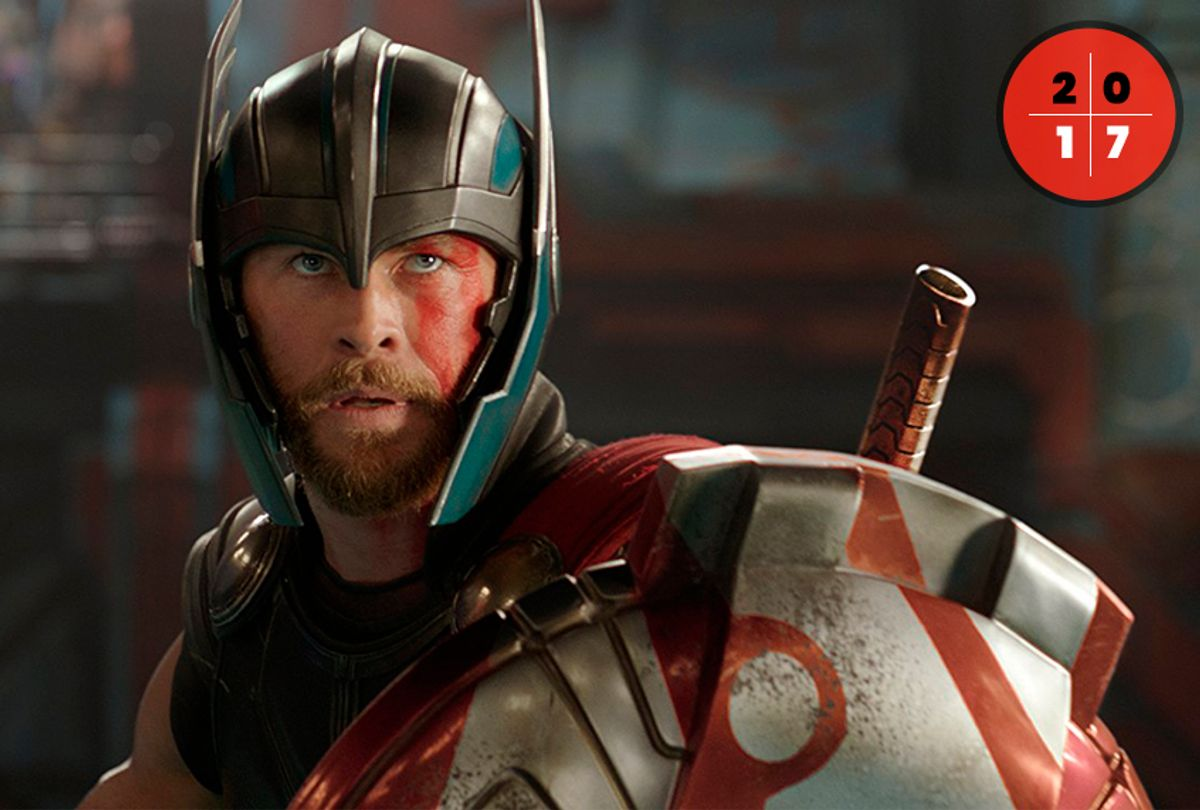 "Chris Hemsworth in ""Thor: Ragnarok"" (Marvel)"