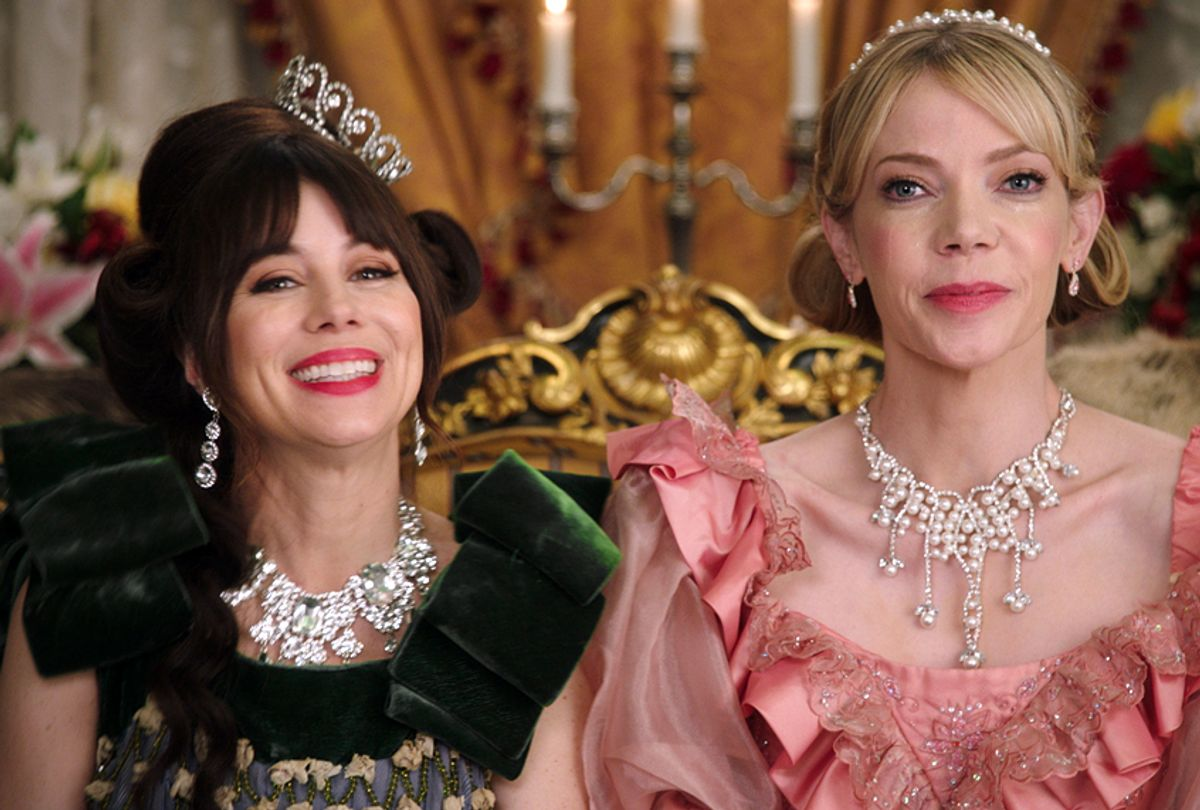 """Natasha Leggero and Riki Lindhome in """"Another Period"""" (Comedy Central)"""
