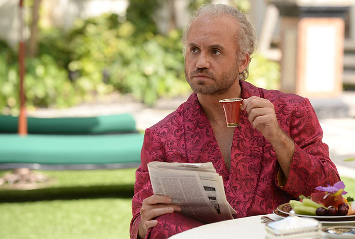 """Edgar Ramirez as Gianni Versace in """"The Assassination of Gianni Versace: American Crime Story"""" (FX/Jeff Daly)"""