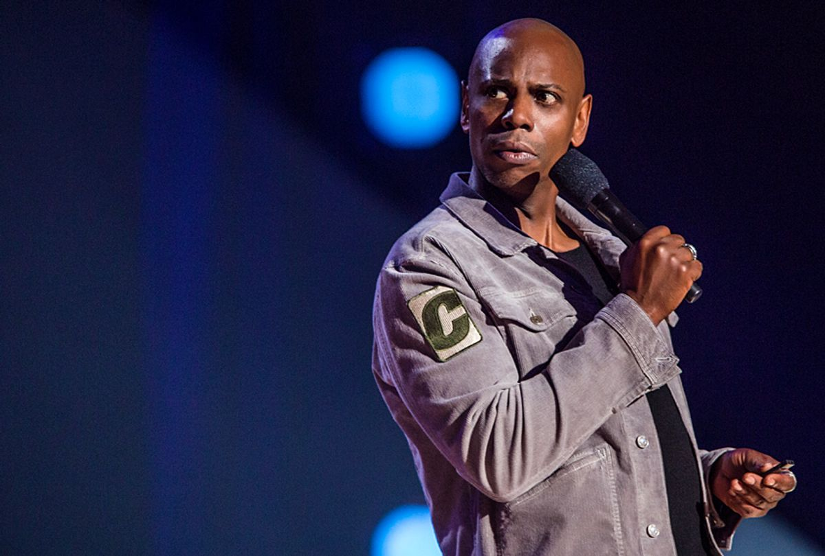 """Dave Chappelle in """"Dave Chappelle: Equanimity"""" (Netflix/Mathieu Bitton)"""