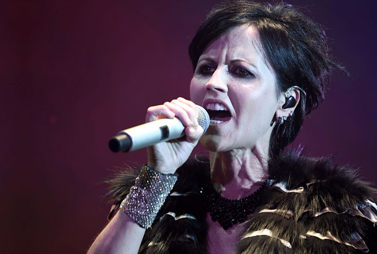 Dolores O'Riordan of The Cranberries (Getty/Guillaume Souvant)