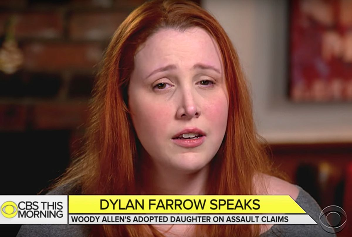 """Dylan Farrow on """"CBS This Morning"""" (YouTube/CBS This Morning)"""