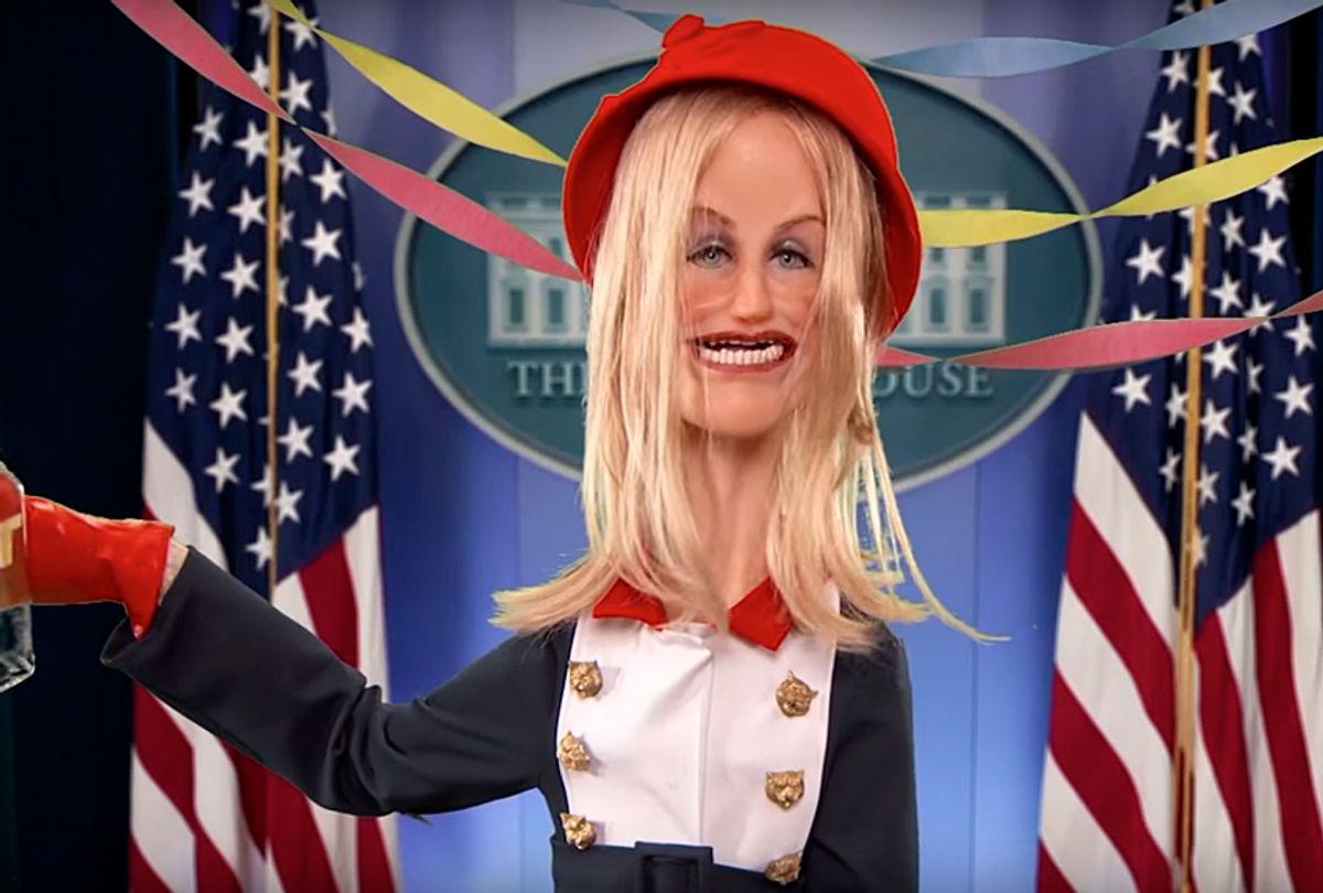 "Kellyanne Conway Spokespuppet on ""Jimmy Kimmel Live"" (YouTube/Jimmy Kimmel Live)"