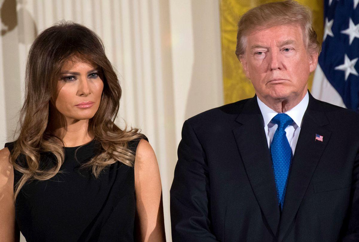 Donald Trump; Melania Trump (Getty/Saul Loeb)