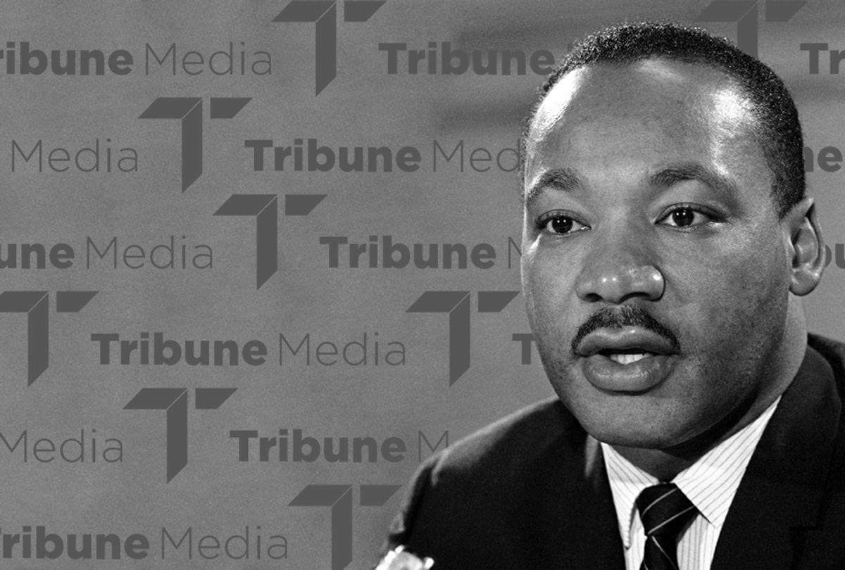 Dr. Martin Luther King Jr. (AP/Tribune/Salon)