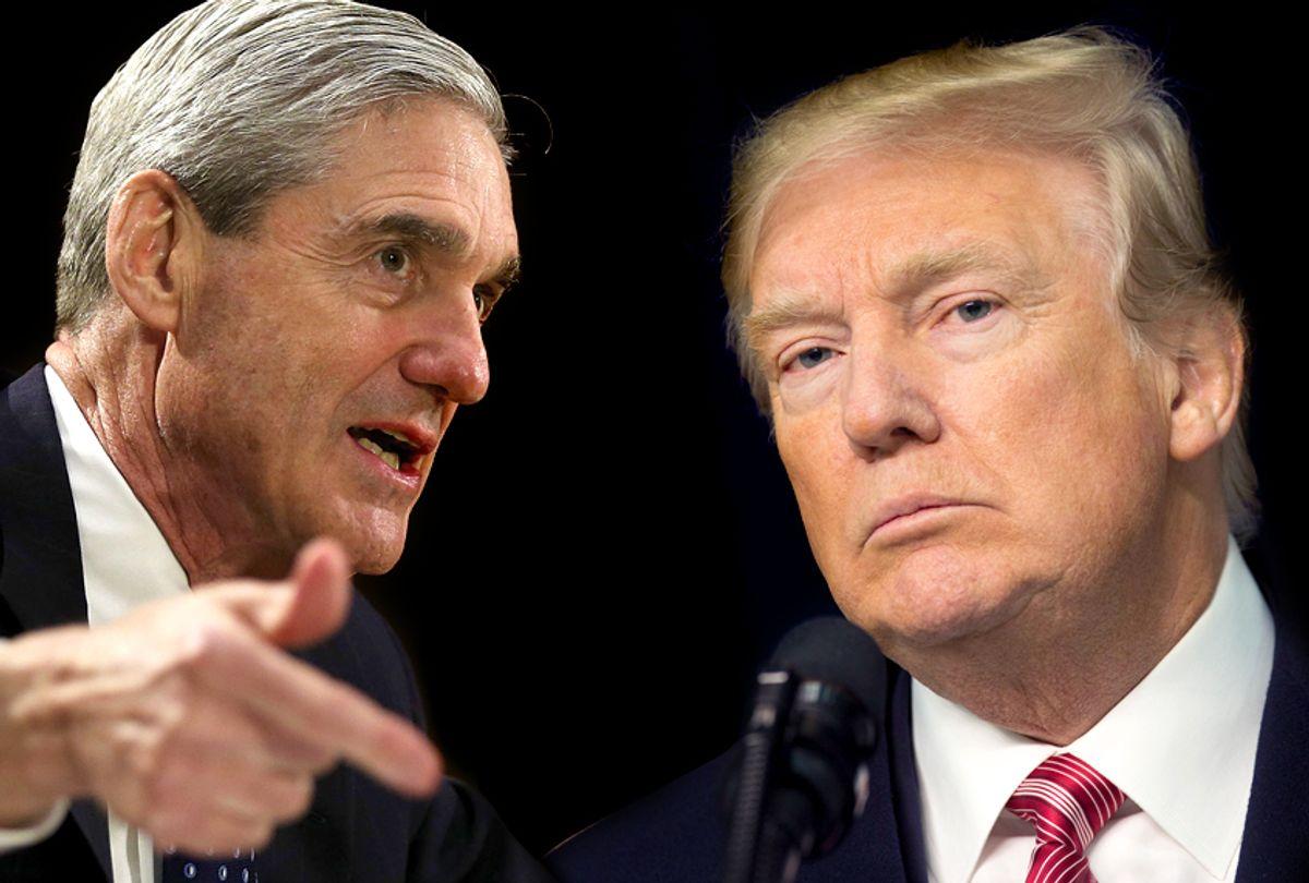 Robert Mueller; Donald Trump (Getty/Alex Wong/Chris Kleponis)