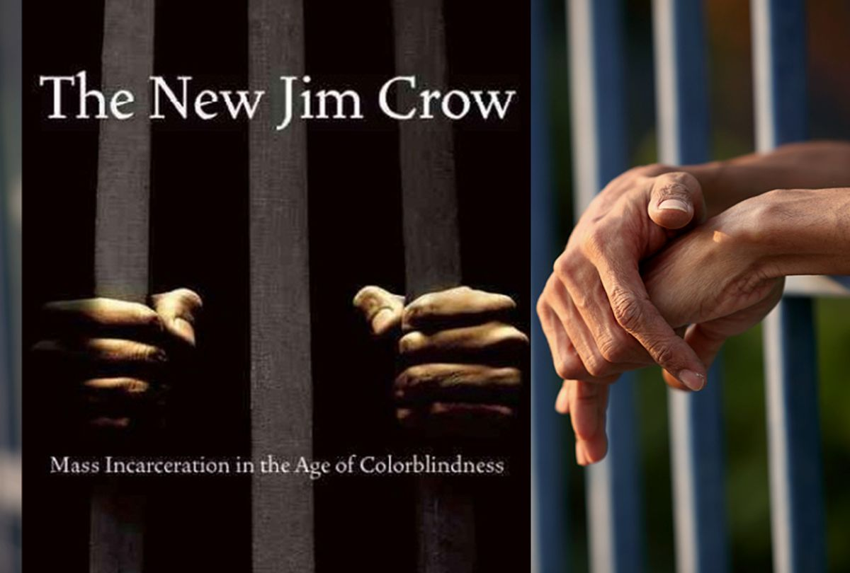 The New Jim Crow: Mass Incarceration in the Age of Colorblindness by Michelle Alexander (The New Press/Shutterstock)