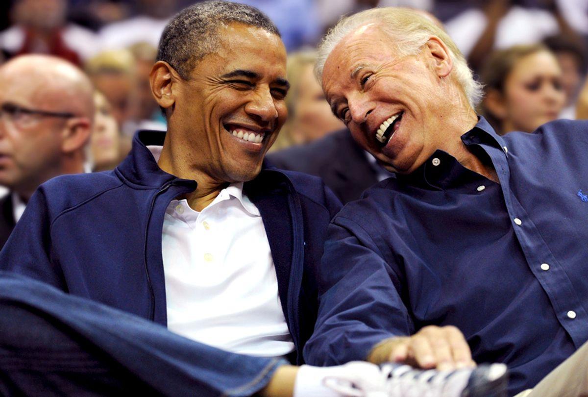 Barack Obama; Joe Biden (Getty/Patrick Smith)