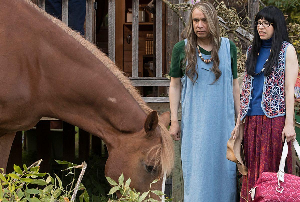 "Fred Armisen and Carrie Brownstein in ""Portlandia"" (IFC/Augusta Quirk)"