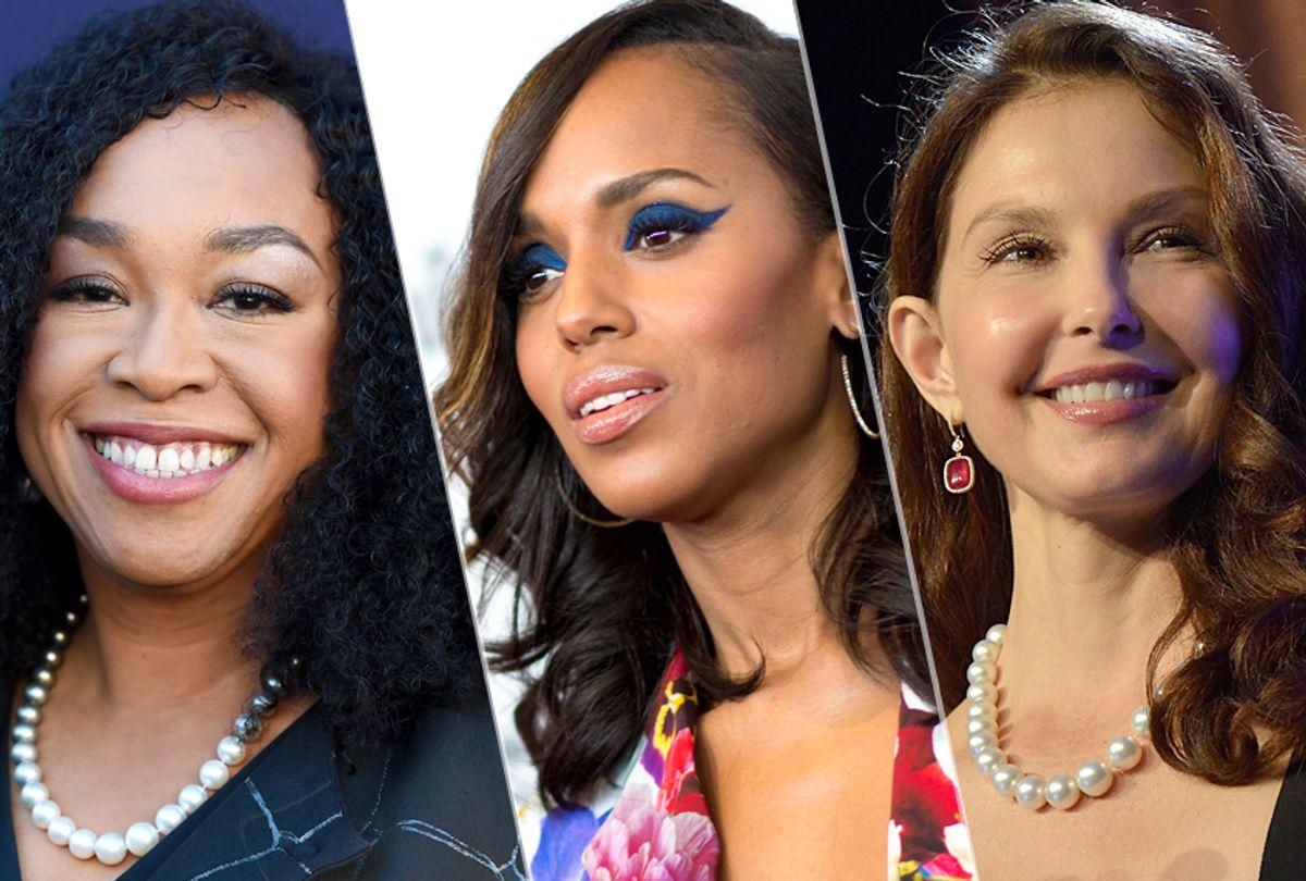 Shonda Rhimes; Kerry Washington; Ashley Judd (AP/Jordan Strauss/Getty/Valerie Macon/Duane Prokop)