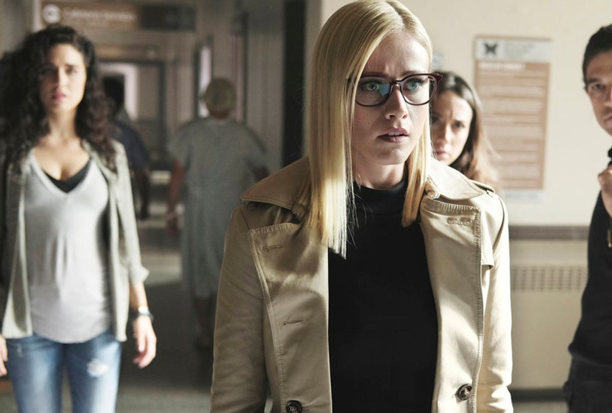 """Olivia Taylor Dudley as Alice Quinn in """"The Magicians"""" (SYFY/Eike Schroter)"""