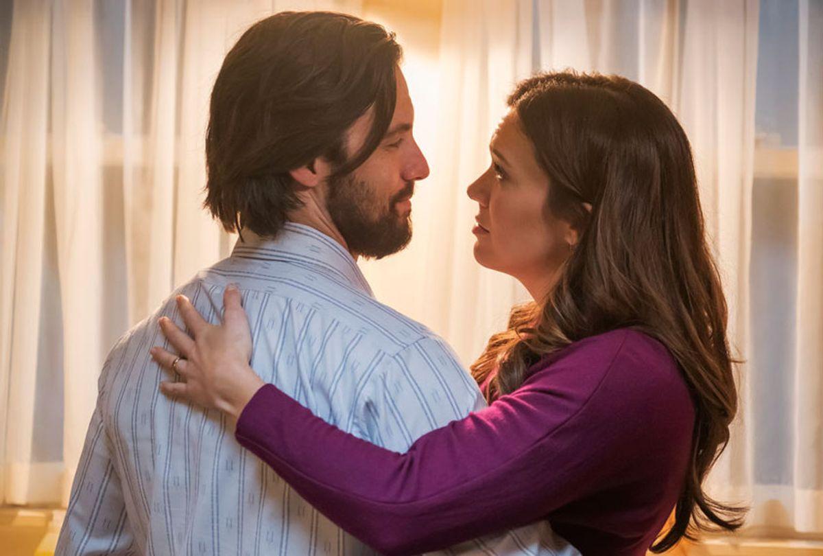 "Milo Ventimiglia and Mandy Moore in ""This Is Us"" (NBC Universal Media)"