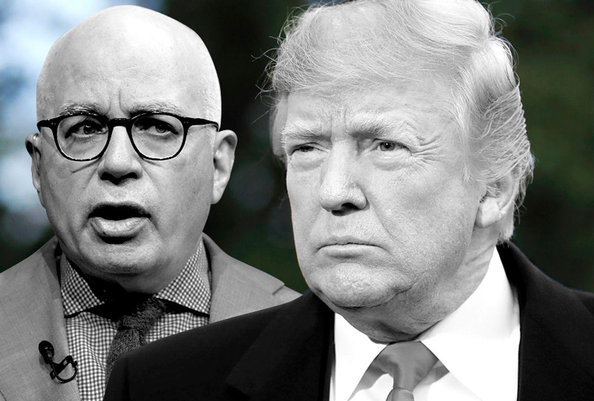 Michael Wolff; Donald Trump (AP/Carolyn Kaster/Manuel Balce Ceneta)