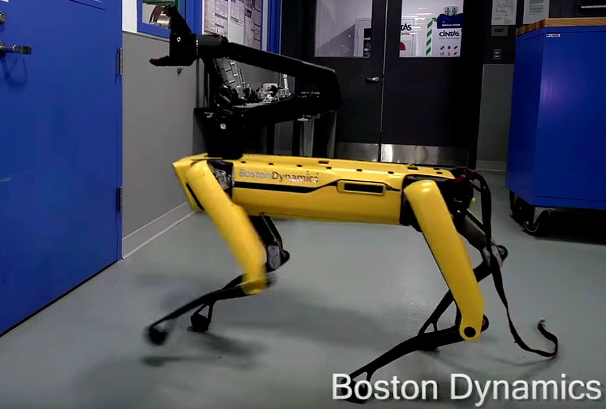 SpotMini robot by Boston Dynamics (YouTube/BostonDynamics)