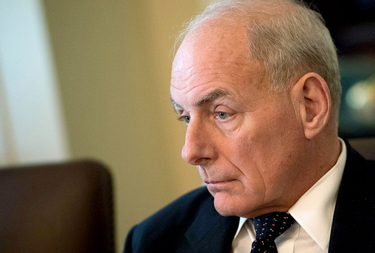 White House Chief of Staff John Kelly (Getty/Kevin Dietsch)