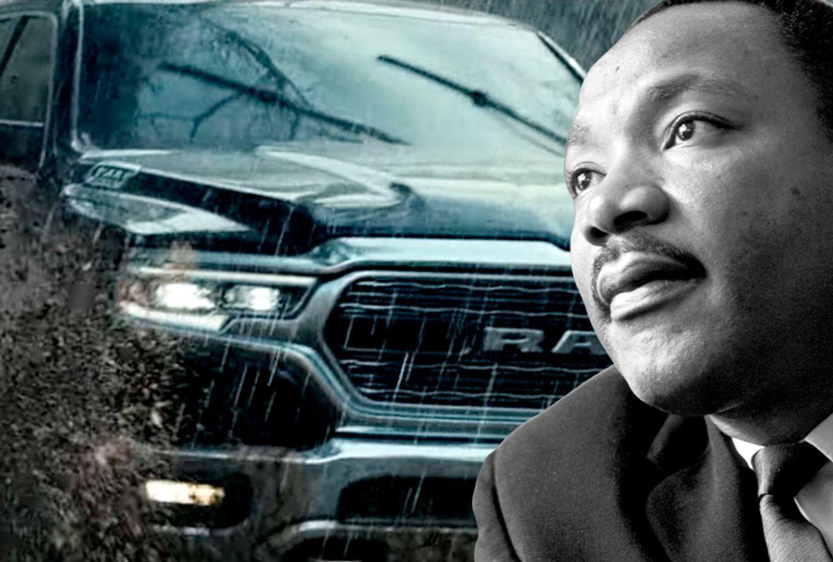 Martin Luther King Jr (Getty/Reg Lancaster/YouTube/Ram Trucks/Salon)