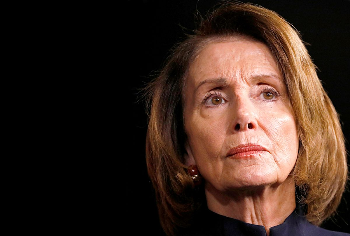 House Minority Leader Nancy Pelosi (Getty/Aaron P. Bernstein)