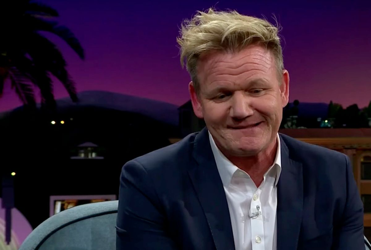 """Gordon Ramsay on """"The Late Late Show with James Corden"""" (YouTube/The Late Late Show with James Corden)"""