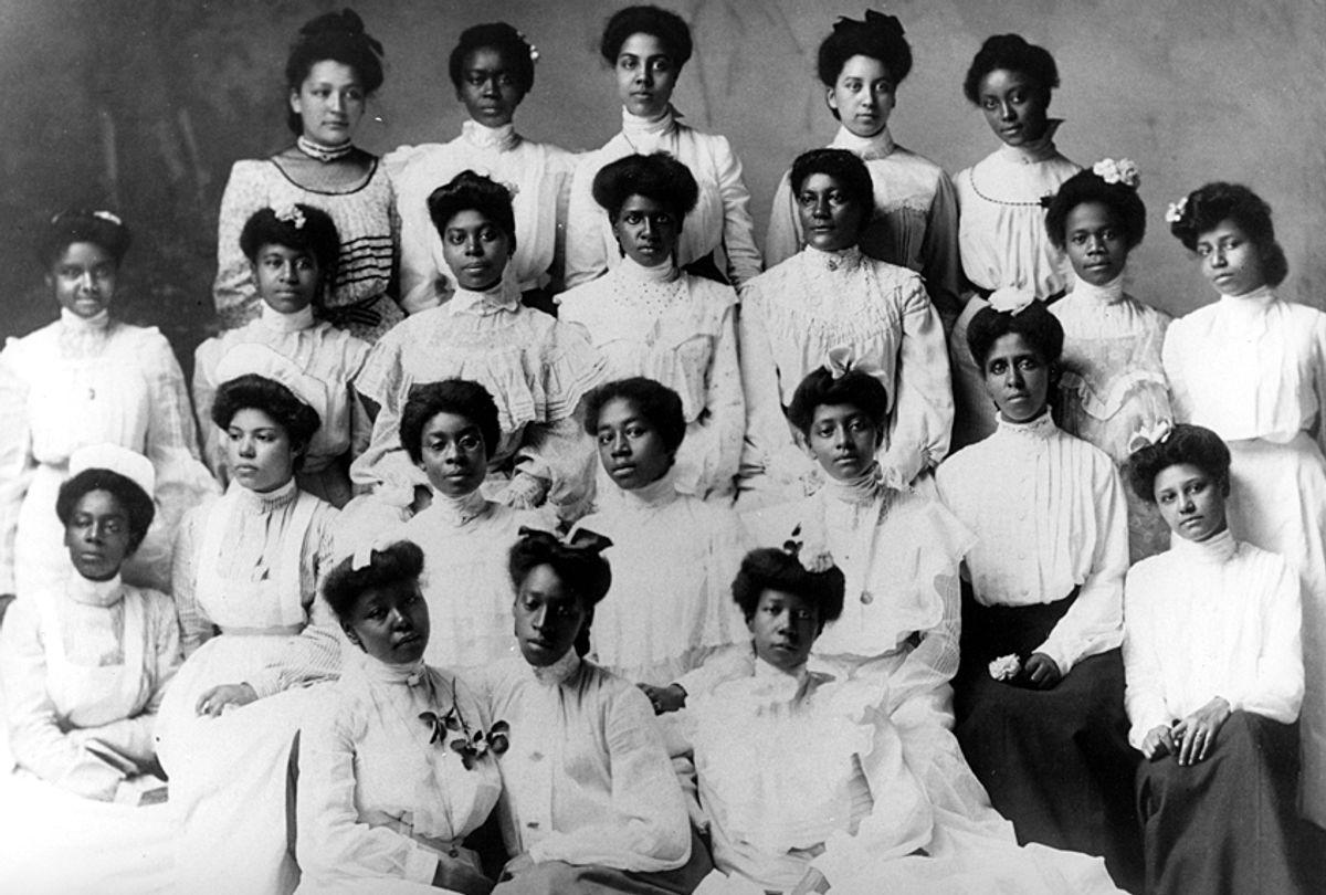 Spelman College class, 1898. (Courtesy of Spelman College)