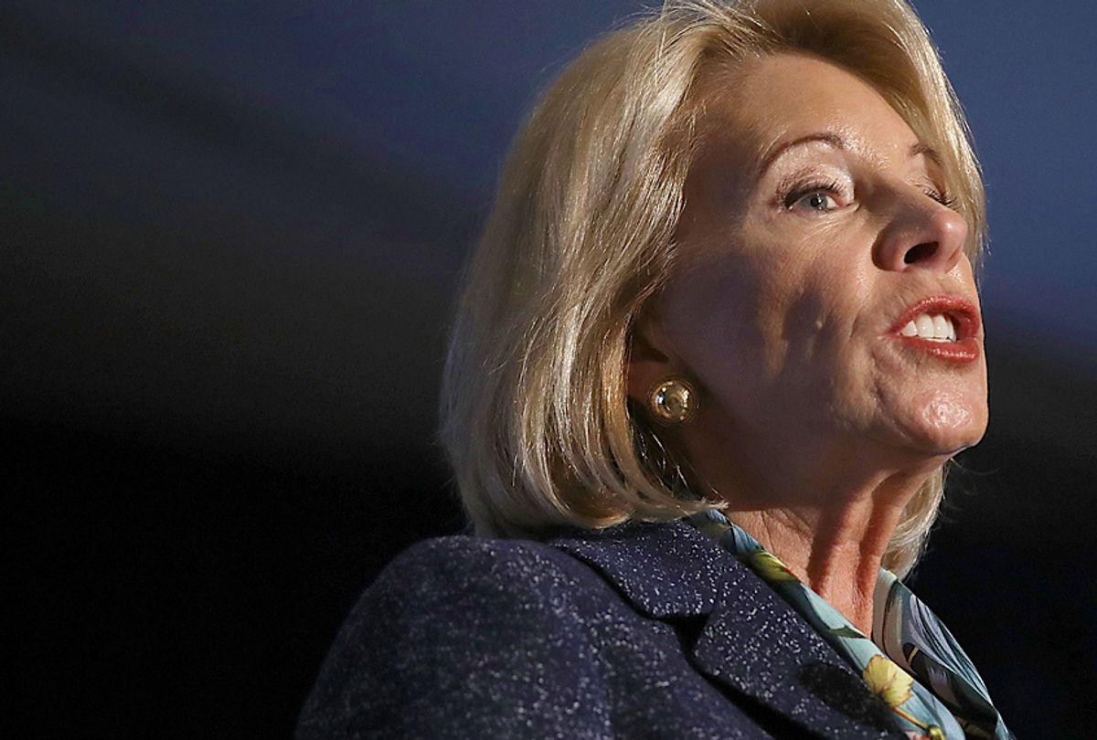 U.S. Education Secretary Betsy DeVos (Getty/Win McNamee)