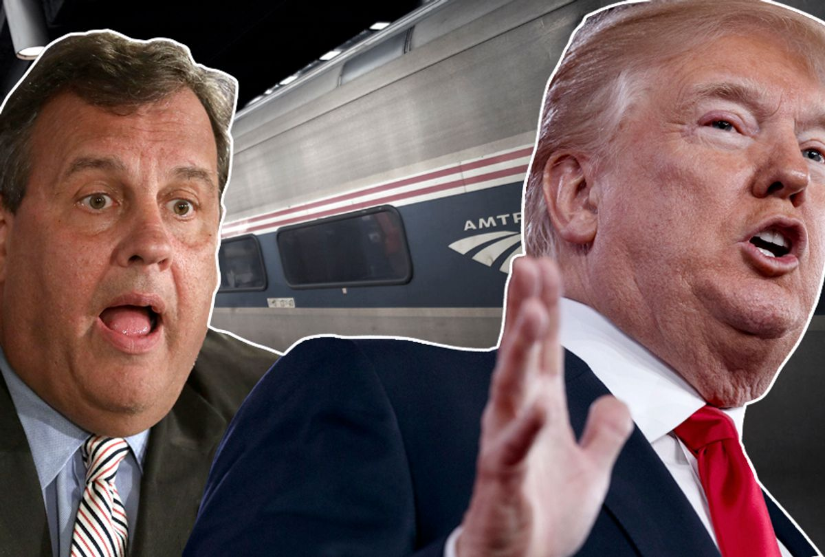 Chris Christie; Donald Trump (AP/Getty/Salon)