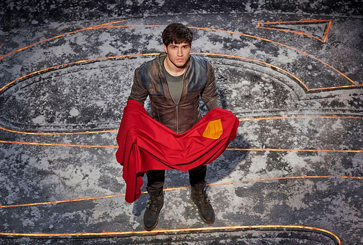 """Cameron Cuffe as Superman's grandfather, Seg-El in """"Krypton"""" (SYFY/Gavin Bond)"""