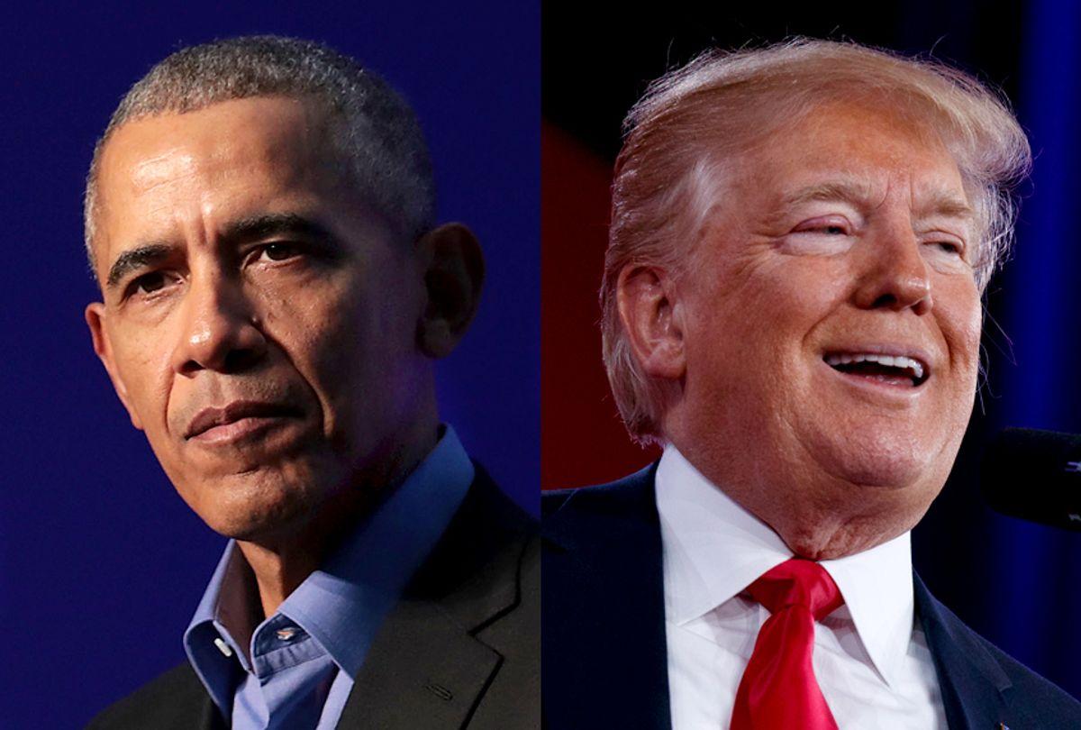 Barack Obama; Donald Trump (Getty/Scott Olson/AP/Evan Vucci)