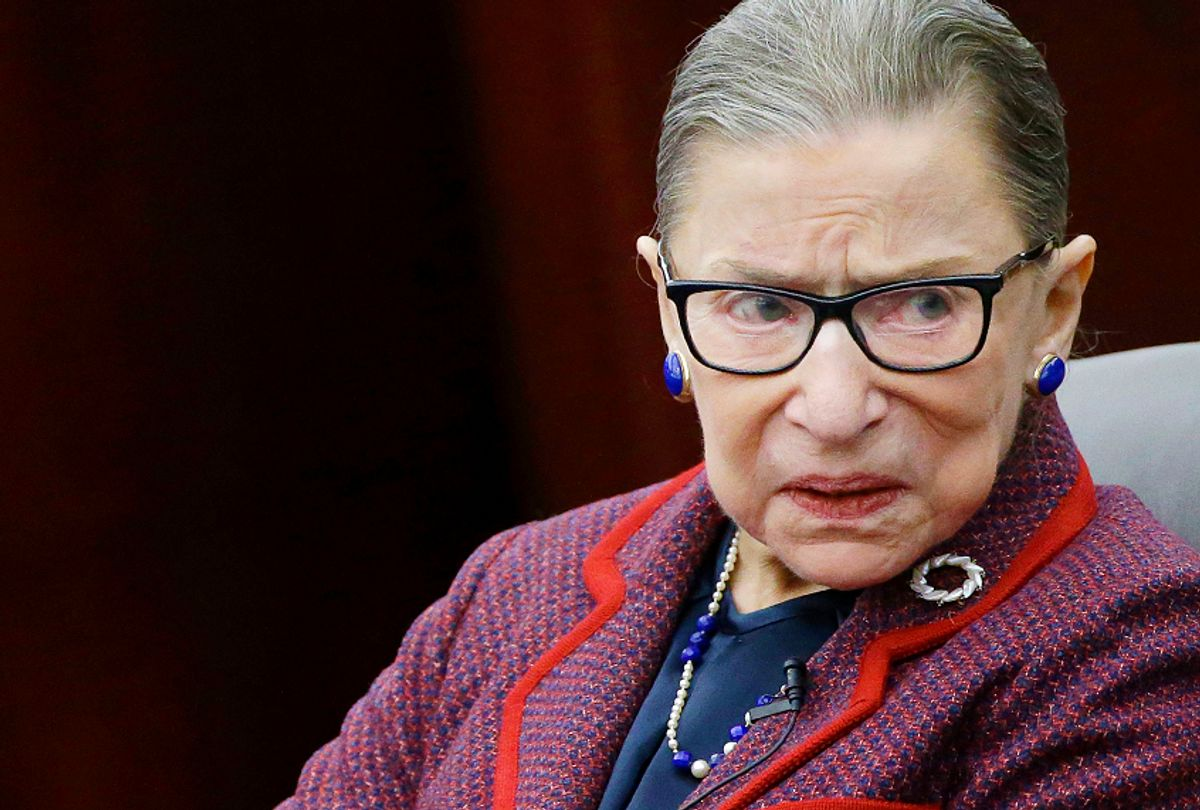 Supreme Court Justice Ruth Bader Ginsburg (AP/Stephan Savoia)