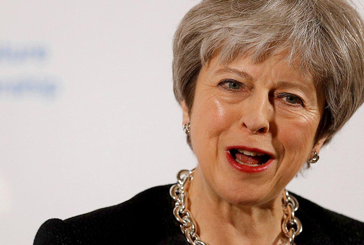 Britain's Prime Minister Theresa May (AP/Peter Nicholls)
