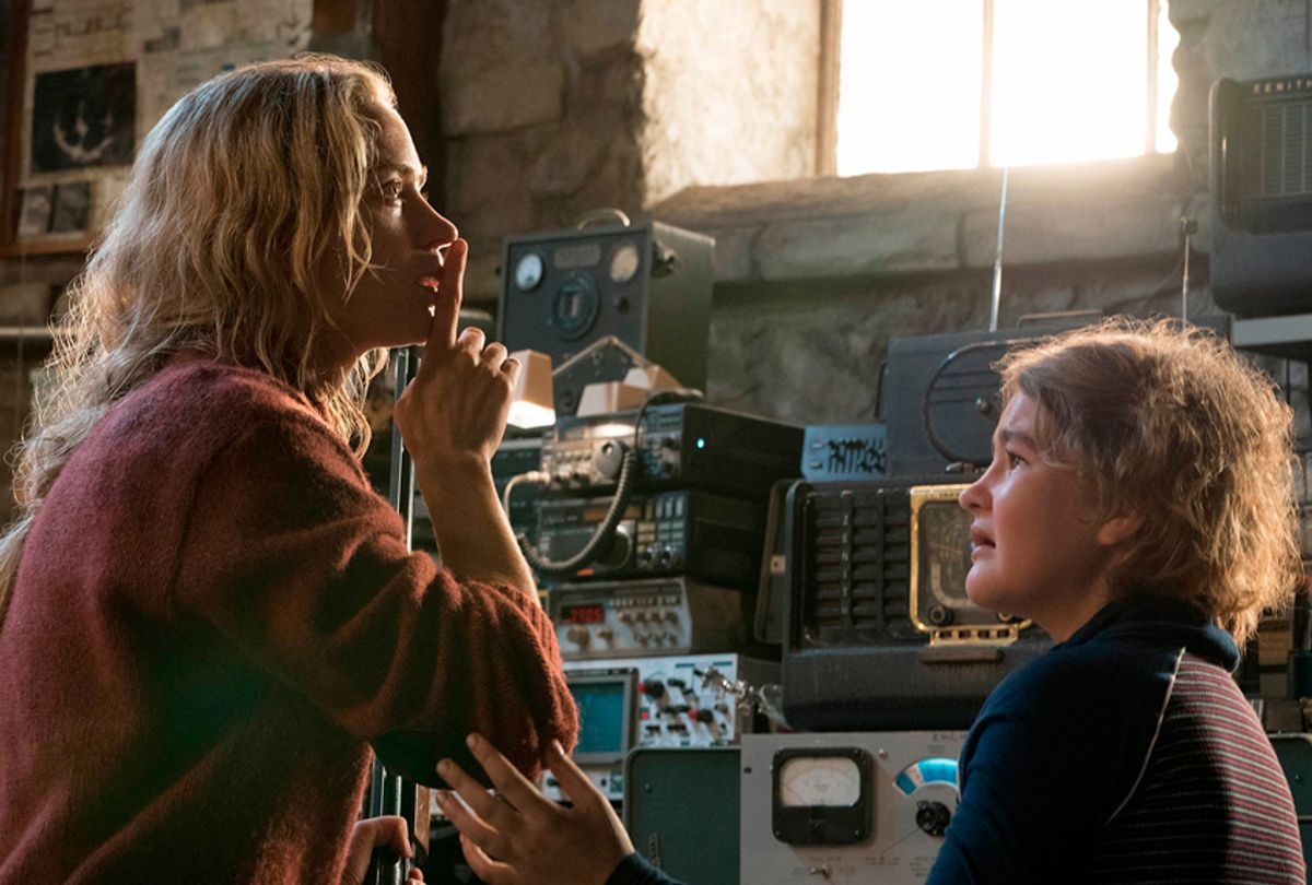 """Emily Blunt and Millicent Simmonds in """"A Quiet Place"""" (Paramount Pictures)"""