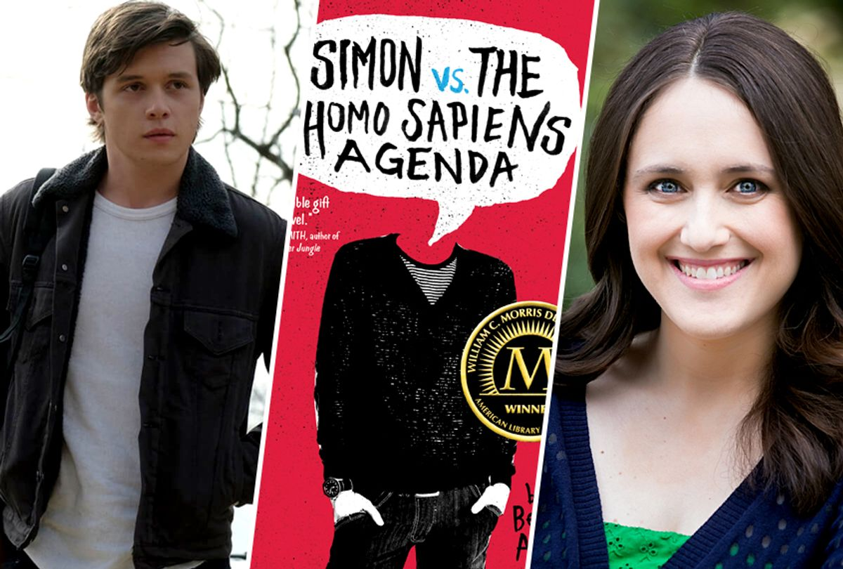 Love, Simon; Simon vs. the Homo Sapiens Agenda by Becky Albertalli (20th Century Fox/Balzer + Bray/Decisive Moment Events)