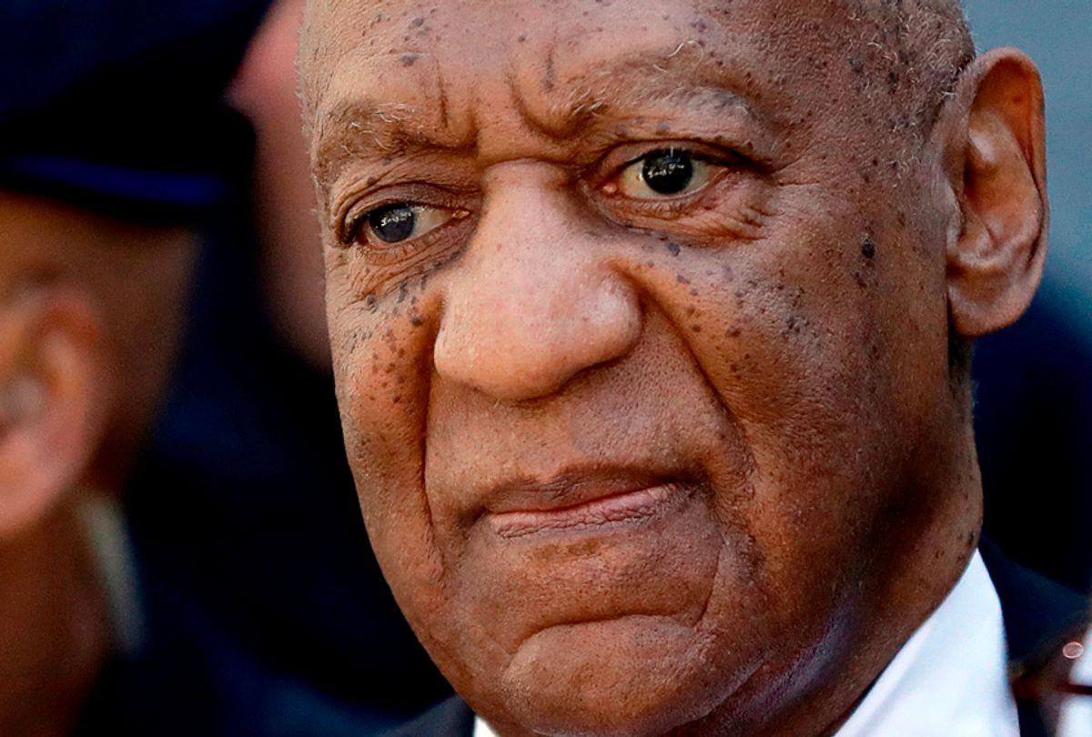 Bill Cosby departs the courthouse after he was found guilty in his sexual assault retrial, April, 26, 2018. (AP//Matt Slocum)