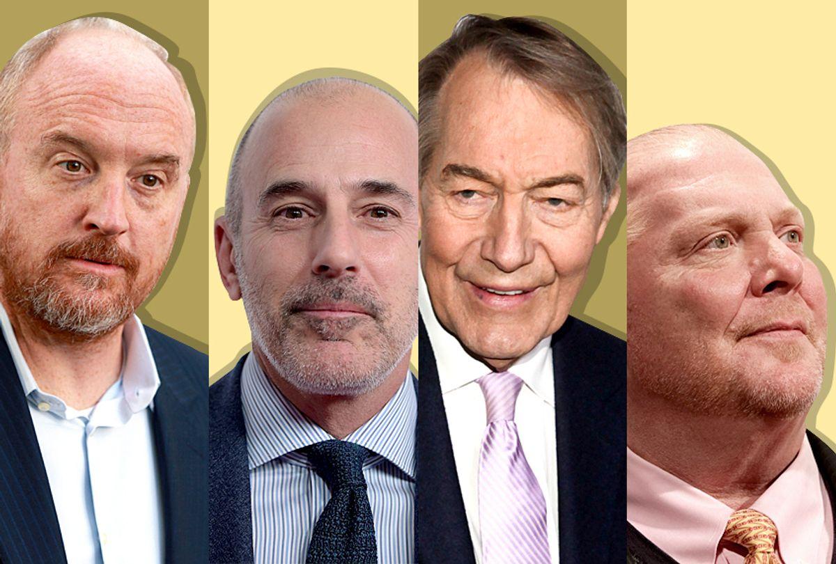 Louis C.K., Matt Lauer, Charlie Rose, Mario Batali (Getty/AP)