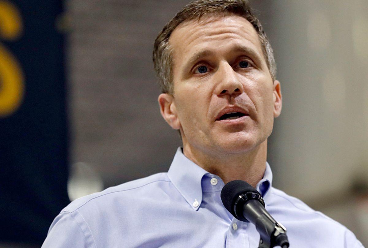 Missouri Gov. Eric Greitens (AP/Jeff Roberson)
