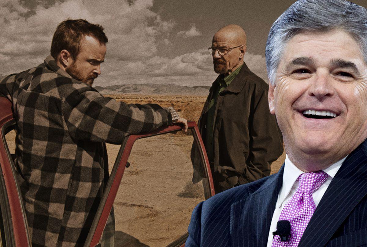 Sean Hannity; Breaking Bad (Getty/Saul Loeb/AMC/Frank Ockenfels 3)