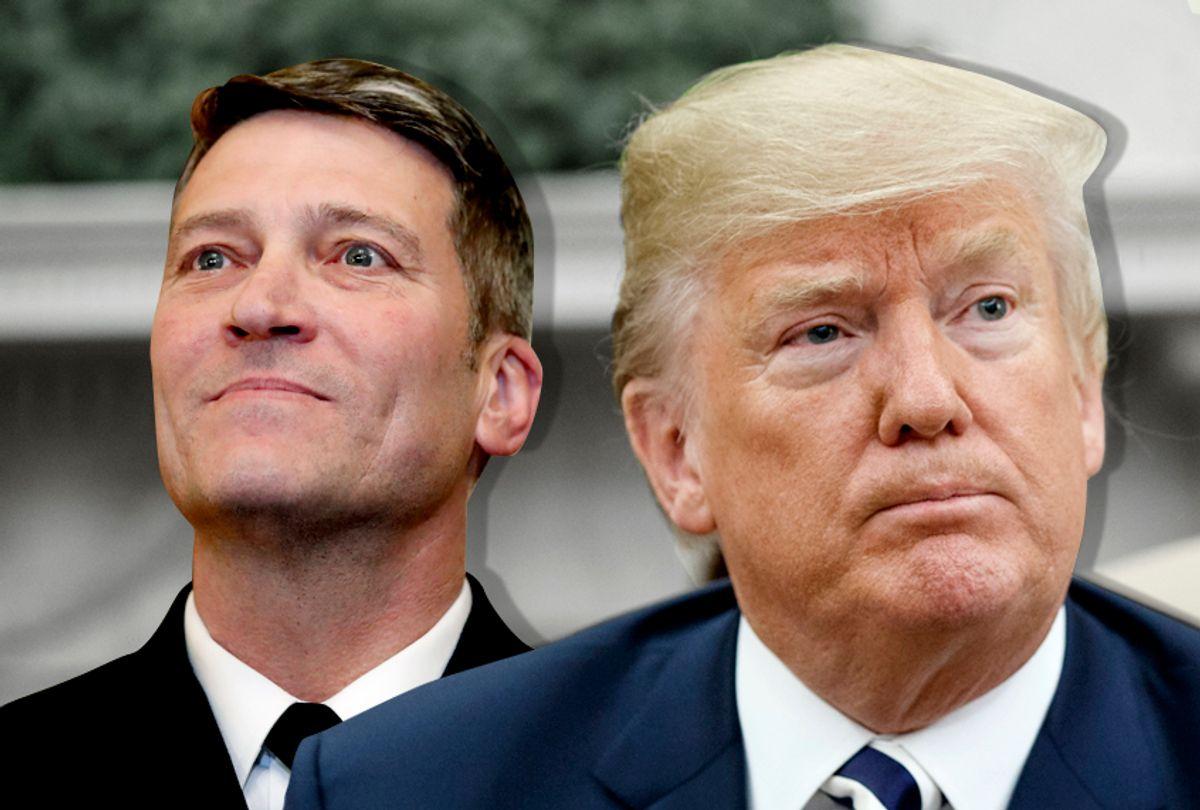 Ronny Jackson; Donald Trump (AP/Alex Brandon/Evan Vucci/Salon)