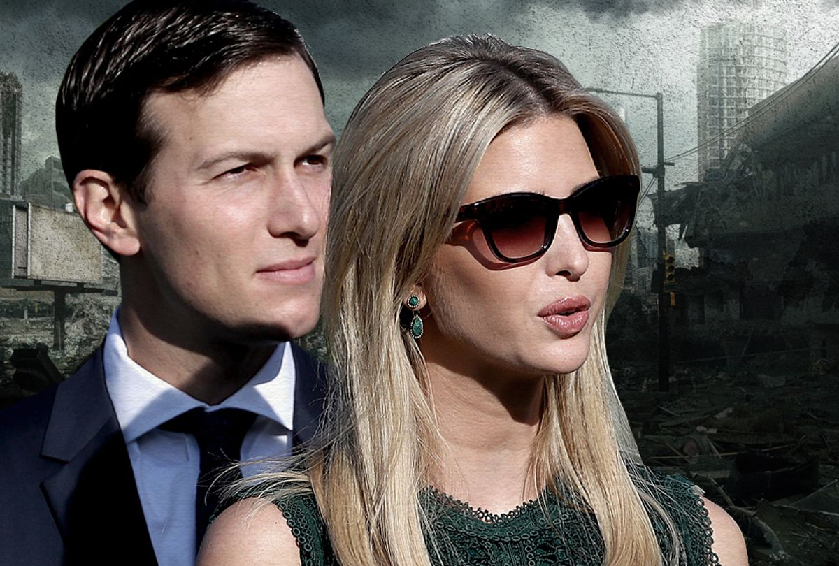 Jared Kushner; Ivanka Trump (Getty/Photo Montage by Salon)