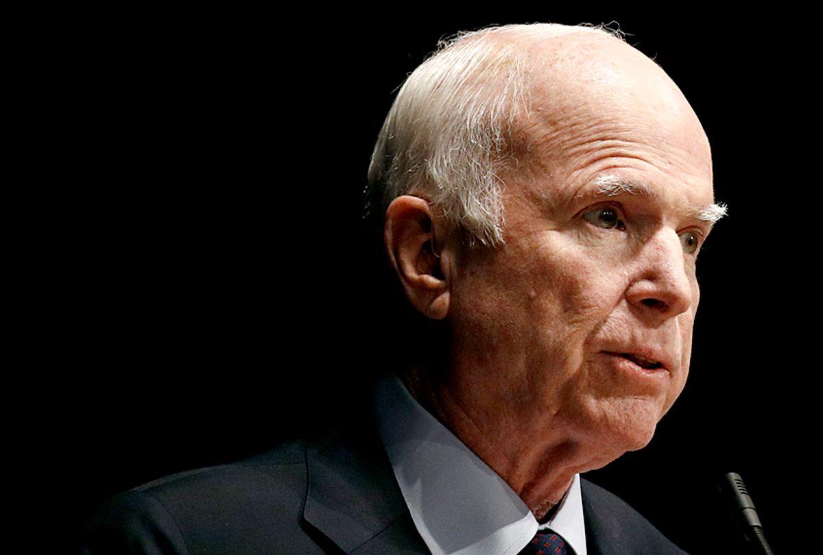 John McCain (AP/Patrick Semansky)
