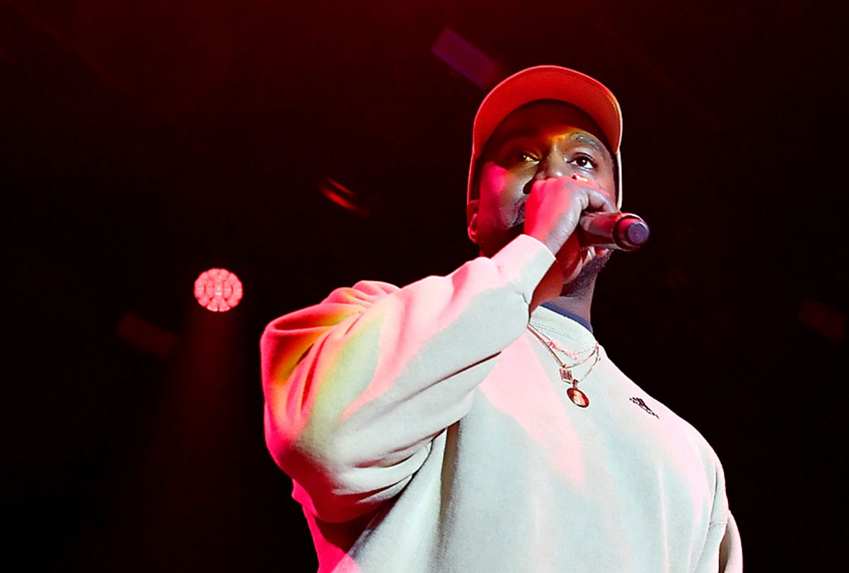Kanye West (Getty/Neilson Barnard)