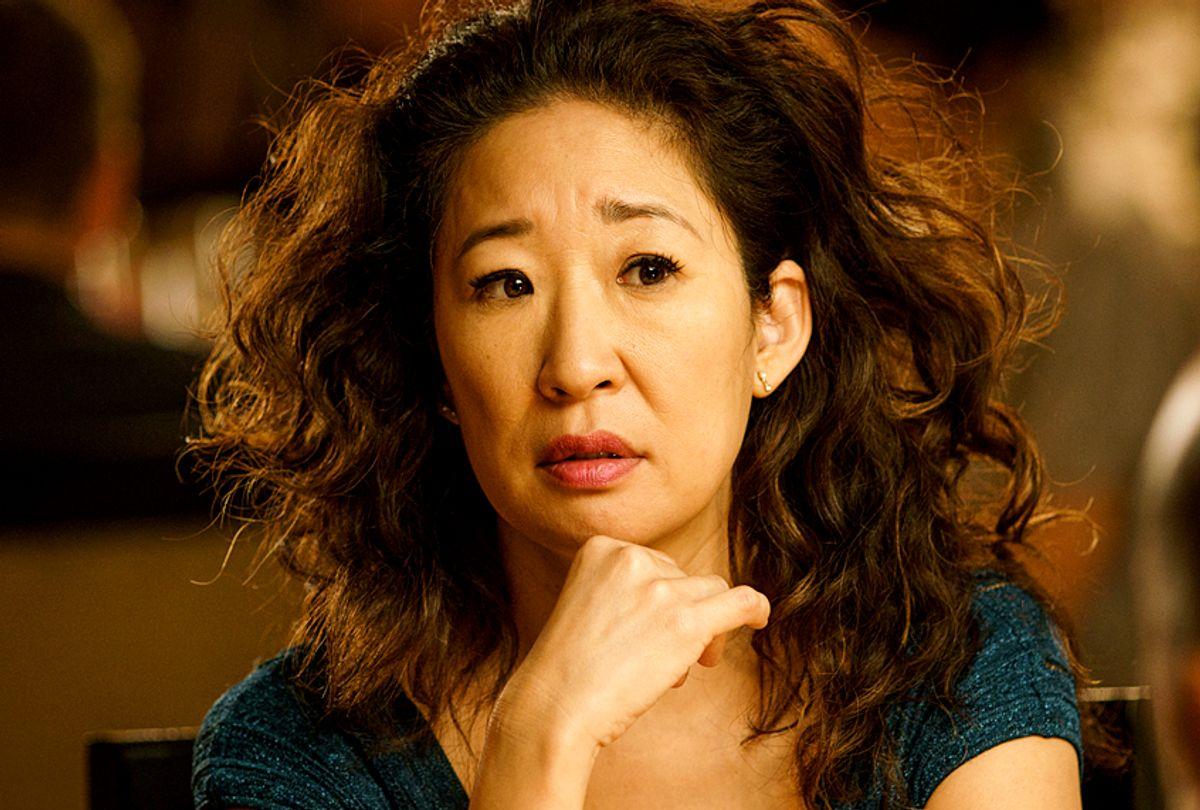 "Sandra Oh as Eve Polastri in ""Killing Eve"" (BBC/Nick Briggs)"