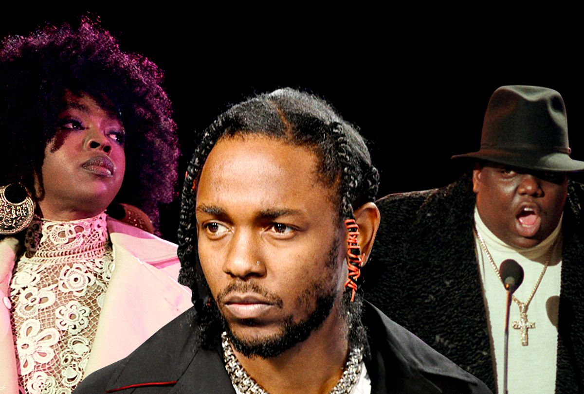 Lauryn Hill; Kendrick Lamar; Notorious B.I.G. (Getty/AP/Salon)
