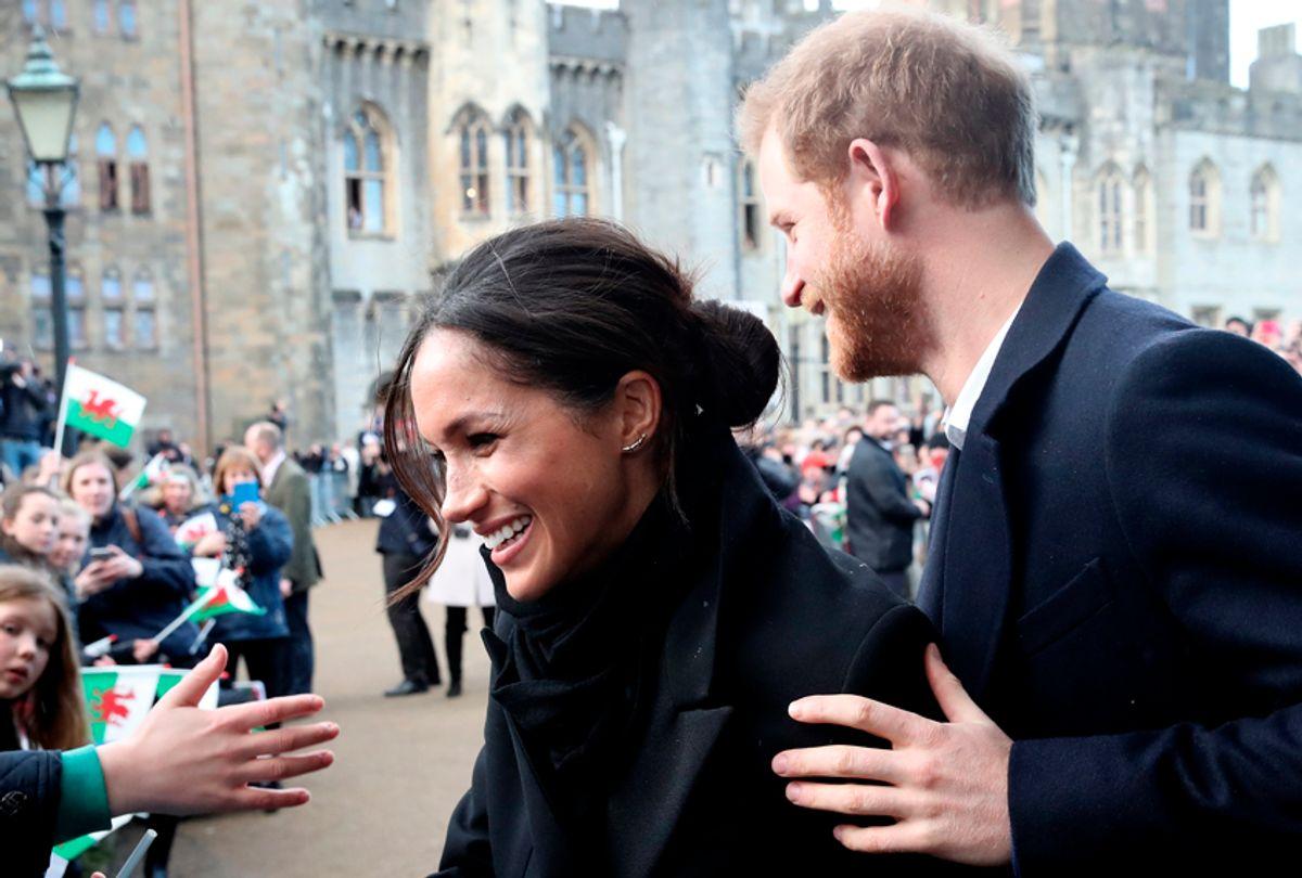 Prince Harry and Meghan Markle (Getty/Chris Jackson)