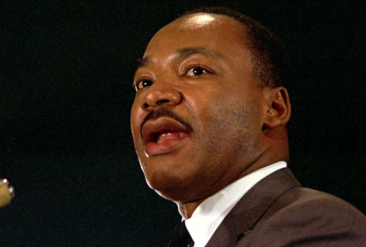 Rev. Dr. Martin Luther King Jr., perhaps the most famous American who was counted among the Christian Left.  (AP)